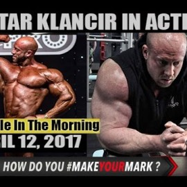 PETAR KLANCIR IN ACTION! – Muscle In The Morning April 12, 2017