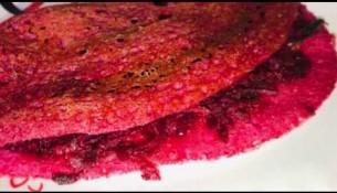 Beetroot dosa in tamil | Healthy Breakfast recipe | Variety dosa recipes | Beetroot dosai recipe
