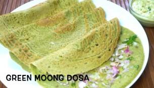 Healthy & Nutritious Green Moong Dosa/ Pesarattu Recipe/ Breakfast Recipe