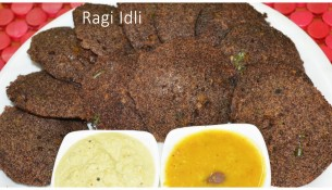 Ragi Rava Idli Recipe In Tamil|Healthy BreakFast Ragi Idli|Vegetable Ragi Rava Idli|ராகி ரவா இட்லி