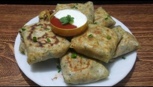 Sooji pocket recipe – Lessiol healthy breakfast soojipocket – سوجی کی پوکیٹ بنانے کا آسان طریقہ