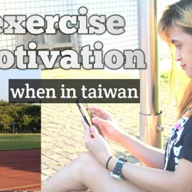 Inpired morning. Exercise here in taiwan