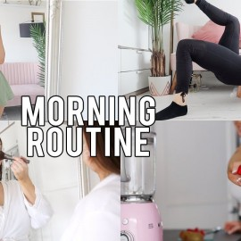HEALTHY MORNING ROUTINE 2019 – Workout, Breakfast, Outfit | AD | Feat. Fabletics