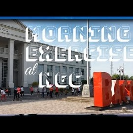 Early Morning Exercise (Zumba) at NGC Bacolod City