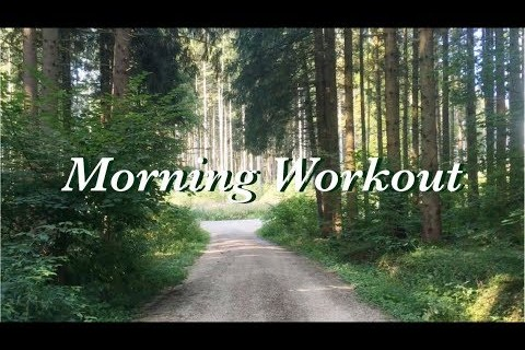 Morning Workout Routine | workout with me vlog | outdoor gym in Germany
