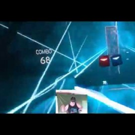 Morning Exercise #008 – Beat Saber Lighsaber VR Game