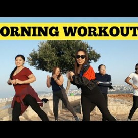 Morning exercise  | Funny  Body workout | Mount Precipice