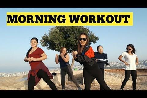 Morning exercise  | Funny  Body workout | Mount Precipice
