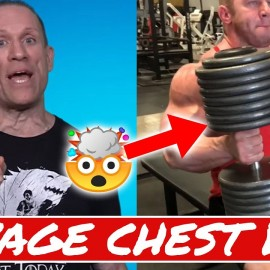 JOEL THOMAS INSANE CHEST WORKOUT! | Muscle in the Morning (11/18/19)