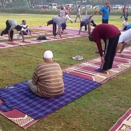 Morning Exercise at Jilani / Racecourse Park