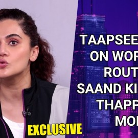 Taapsee Pannu on her morning workout routine, Saand Ki Aankh, Thappad and more | Exclusive