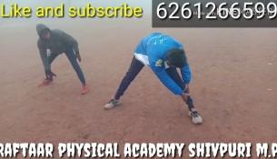 Morning Workout 800m…. Raftaar physical academy shivpuri m.p