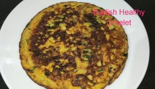 Radish Omelet ముల్లంగి తో హెల్తీ బ్రేక్ ఫాస్ట్ Radish healthy breakfast recipe