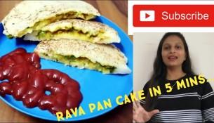 Rava Pancake|Suji Pancake|Rava Pancake in 5 min|Healthy Breakfast recipe