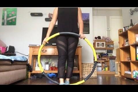 TALA hula hoop version || my morning workout