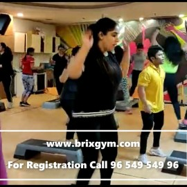BRIX GYM  MORNING EXERCISE  FITNESS CENTER
