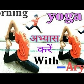 HEALTH TIPS//MORNING EXERCISE//LITTLE BOY DOING YOGA//PHYSICAL ACTIVITY//YOGASAN..