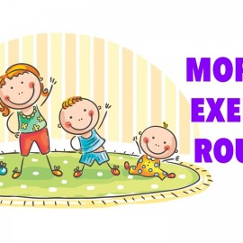 Best Morning Exercise Routine For Entire Family: Burn Calories