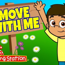 Brain Break ♫ Exercise Song for Kids ♫ Fitness Songs Kids ♫ Move with Me ♫ The Learning Station