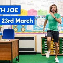 P.E with Joe | Monday 23rd March 2020