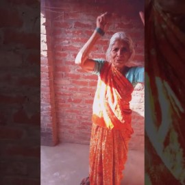 Morning exercise with Dadi Maa ! Fight against Corona वायरस
