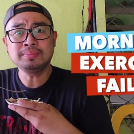 MORNING EXERCISE GONE WRONG! (EPIC FAIL) | Jed Madela