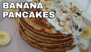 Banana Oatmeal Pancakes | Banana Pancakes | Healthy breakfast recipe
