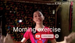 My morning Exercise | Alex gines